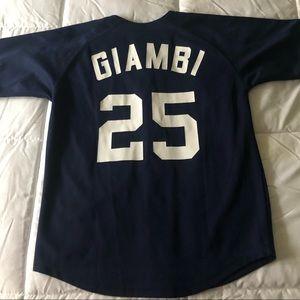 Yankees Giambi #25 kids Jersey 14/16
